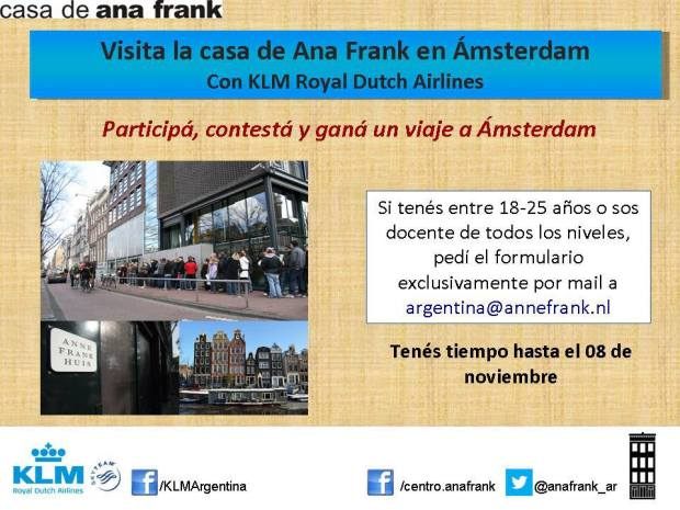 concurso ana frank