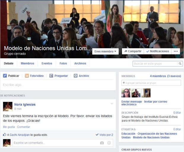 FB del Modelo